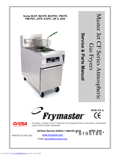frymaster fryer manual enthusiast wiring diagrams u2022 rh rasalibre co Frymaster Parts Frymaster Fryer Manual