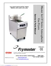Frymaster MJCF Service & Parts Manual