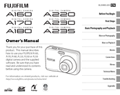 fujifilm finepix a235 owner s manual pdf download rh manualslib com Fujifilm SD Card Kodak EasyShare Digital Camera Manual