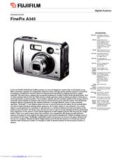fujifilm finepix a345 manuals rh manualslib com Fuji FinePix SLR Camera Fuji FinePix SLR Camera