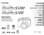 fujifilm finepix s5700 owner s manual pdf download rh manualslib com
