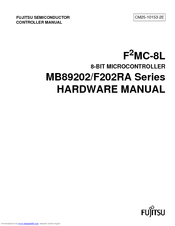 Fujitsu F2MC-8L MB89202 Hardware Manual