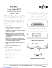 Fujitsu Stylistic LT LT Installation Instructions