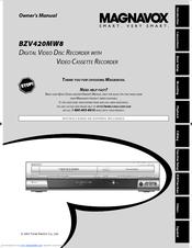 magnavox bzv420mw8 manuals rh manualslib com Magnavox DV225MG9 DVD VCR Combo Magnavox DV225MG9 DVD VCR Combo
