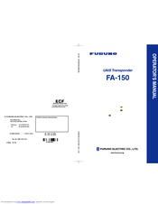 furuno fa 150 manuals rh manualslib com User Guide Icon furuno fa-150 operator manual