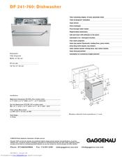gaggenau df 241 760 manuals. Black Bedroom Furniture Sets. Home Design Ideas