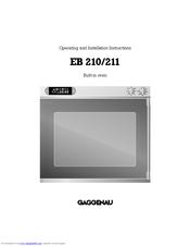 gaggenau eb 210 211 manuals. Black Bedroom Furniture Sets. Home Design Ideas
