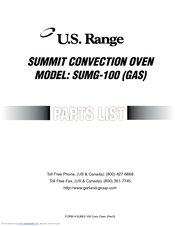 u s range sumg 100 gas manuals rh manualslib com us range summit 20 manual us range manual