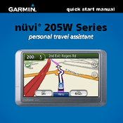 garmin nuvi 255w automotive gps receiver manuals rh manualslib com Garmin Nuvi Product Garmin 205 Fitness