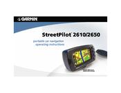 garmin streetpilot 2610 operating instructions manual pdf download rh manualslib com garmin 2610 manual garmin 2010 manual
