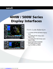 Garmin gns 430aw manuals garmin gns 430aw pilots manual addendum 24 pages 400w series sciox Images