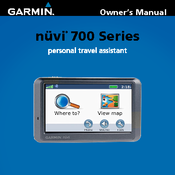 garmin nuvi 780 automotive gps receiver manuals rh manualslib com Garmin Nuvi Owners Manual 2013 Garmin Nuvi Owner's Manual