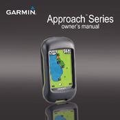 Garmin Approach G3 Manuals