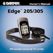 GARMIN EDGE 205/305 OWNER'S MANUAL Pdf Download