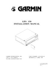 garmin gps 150 installation manual pdf download rh manualslib com garmin gps 150 xl installation manual Garmin 250Xl