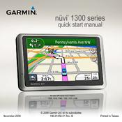 garmin nvi 1300 quick start manual pdf download rh manualslib com Garmin GPS 135 Garmin Nuvi 650 Software