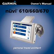 garmin nuvi 660fm guide manuals rh manualslib com garmin zumo 660 user manual zumo 660 lm instruction manual