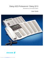ericsson dialog 4223 manuals rh manualslib com ericsson dt292 user manual ericsson t01 user manual