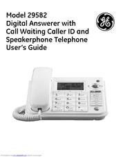 ge 29582 manuals rh manualslib com ge telephone dect 6.0 manual ge phone manuals