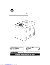 GE 840081600 Owner's Manual