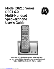ge phones 28223ee3 manual today manual guide trends sample u2022 rh brookejasmine co GE DECT 6.0 User Manual General Electric Telephone Manuals