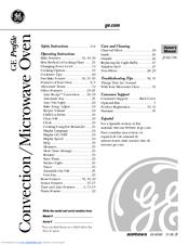 ge jvm1790sk profile 1 7 cu ft convection microwave manuals rh manualslib com samsung microwave owner's manual kenmore microwave owner's manual