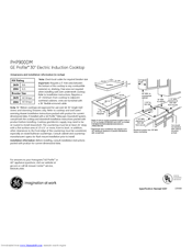 ge profile induction range manual