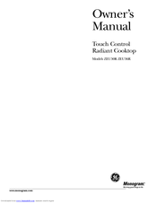 GE Monogram ZEU30R Owner's Manual