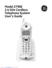 ge cordless phone user manual browse manual guides u2022 rh trufflefries co General Electric Cordless Phones General Electric