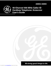 GE 15433020 User Manual