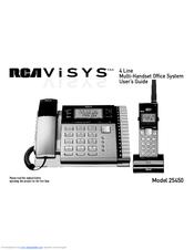 rca visys 25450 manuals rh manualslib com rca visys manual 6.0 rca visys phone manual