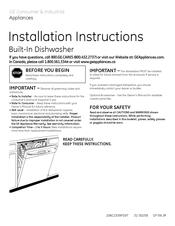 ge gsm2200nww 24 inch under the sink dishwasher manuals. Black Bedroom Furniture Sets. Home Design Ideas