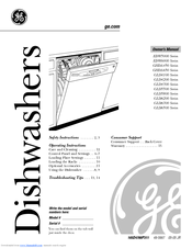 GE GLD5800 Series Owner's Manual