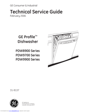 Ge Profile Pde9900 Technical Service Manual Pdf