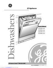 ge nautilus gsd3400 gsd3600 gsd3700 gsd3900 manuals rh manualslib com GE Nautilus Dishwasher Installation Guide ge nautilus dishwasher user guide