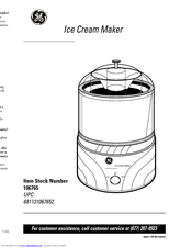 GE 106765 Owner's Manual