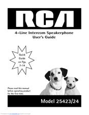 rca 25424 manuals rh manualslib com