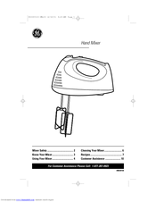 GE 106742 Owner's Manual