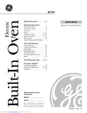 ge jks10 manuals rh manualslib com ge spectra oven instruction manual ge profile oven instruction manual
