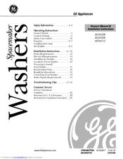 ge spacemaker wcxh208 manuals rh manualslib com GE Appliances Service GE Services DC