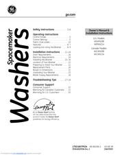 ge spacemaker wcxh208 manuals rh manualslib com GE Repair Service GE Scanner Service
