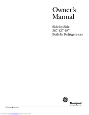 GE 36 Ceramic Cooktop Owner's Manual