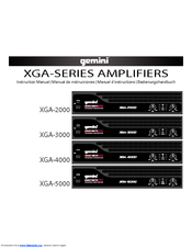 Gemini XGA-2000 Instruction Manual