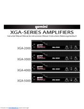 Gemini XGA-2000 Instruction Manual