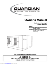 Generac Power Systems Guardian 004373-3 Owner's Manual