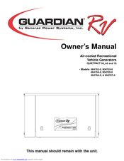 Generac Power Systems Guardian RV QUIETPACT 55 Owner's Manual