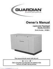 Generac Power Systems Guardian 004988-1 Owner's Manual
