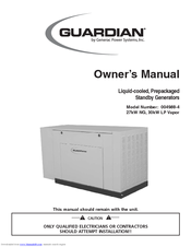 Generac Power Systems 004988-4 Owner's Manual