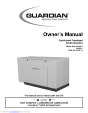 Generac Power Systems 37kW NG Owner's Manual