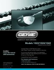 genie intellicode 1024 manuals rh manualslib com Genie Pro 1024 Parts Genie Pro 1024 Garage Door Opener Remote Programming